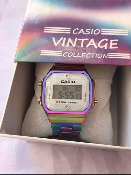 Reloj Vintage Tornasol Blanco