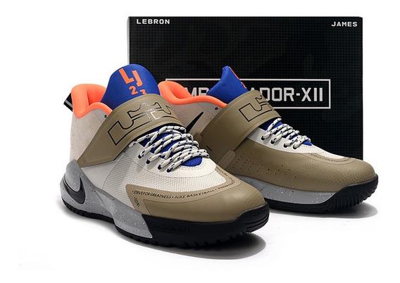 Tenis Nike Lebron Ambassador 12 Varias Cores Frete Gratis