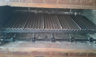 Parrillas A Gas 1mt X 50cm Con 4 Mecheros Y Planchas Difusoras,para Reducir El Consumo De Gas,consultanos X Otro Modelo