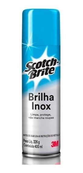Brilha Inox Scotch-brite Para Limpeza Profissional