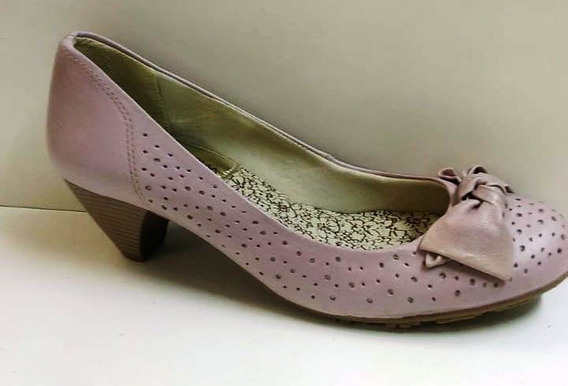Sapato Feminino Salto Baixo Ramarim 096203