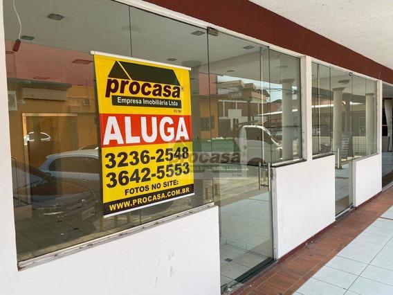 Loja, 88 M² - Venda Por R$ 300.000,00 Ou Aluguel Por R$ 3.000,00 - Parque 10 De Novembro - Manaus/am - Lo0022