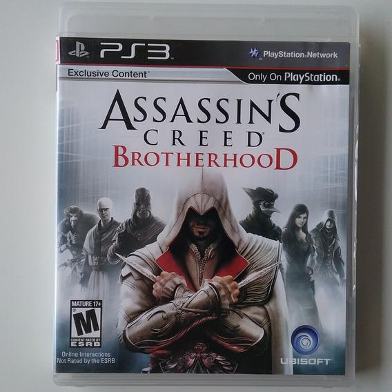 Assassins Creed Brotherhood Ps3 M Física Original Perfeito