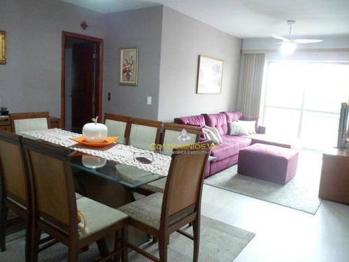 Imagem 1 de 18 de Apartamento Com 3 Dormitórios À Venda, 96 M² Por R$ 360.000,00 - Jardim Santa Rosália - Sorocaba/sp - Ap0168