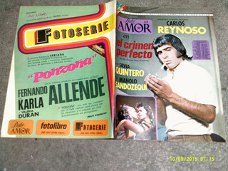 Carlos Reynoso En Fotonovela Dulce Amor