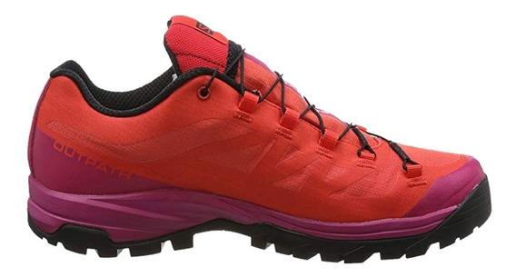 Tenis Mujer Deportivo Outpath Gtx L40001800 Rojo Salomon