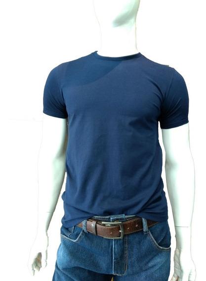 Camiseta Lisa Masculina Gola Redonda Basica Malwee Promoção