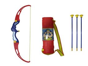 Arco E Flecha Da Mulher Maravilha Infantil Brinquedo Belfix