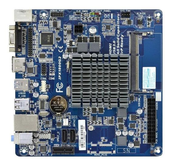 Placa Mãe Intel Pcware J1800 Ddr3 Vga Hdmi Serial Ipx1800g2
