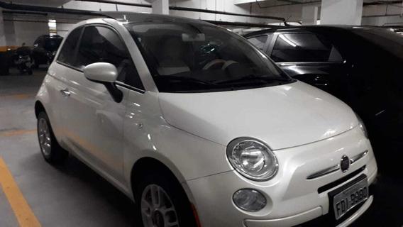 Fiat 500 - Teto Solar - Muito Novo! Apenas 50.000 Km