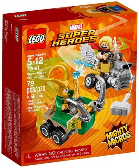 Lego 76091 Super Heroes Mighty Micros: Thor Vs. Loki