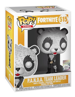 Funko Pop Fortnite 515 P.a.n.d.a Team Leader Magic4ever