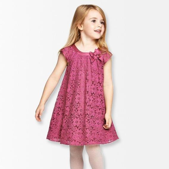 Vestidos De Niñas Princesitas Con Encajes Torchon