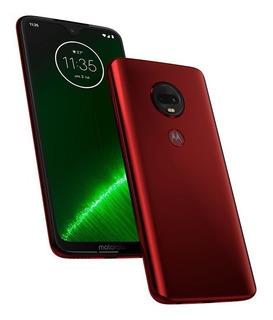 Motorola G7 Plus Ds 4g Rojo O Azul Deep Indigo