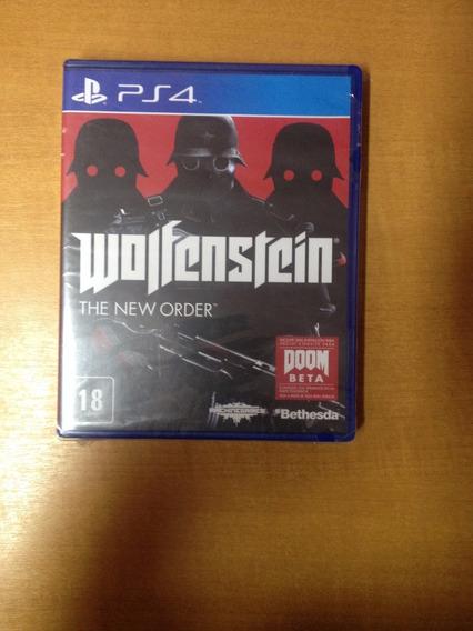 Ps4 Wolfenstein The New Order Novo Lacrado