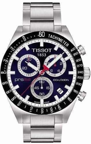 Relógio Tissot Prs 516 T044.417.21.041.00 Aço Cronograf Azul