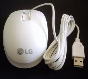 Mouse Com Fio Usb Lg Para All In One Novo Original