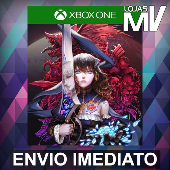 Bloodstained: Ritual Of The Night Xbox One Código 25 Digitos
