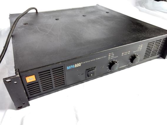 Amplificador De Potência Jbl Mpa 600