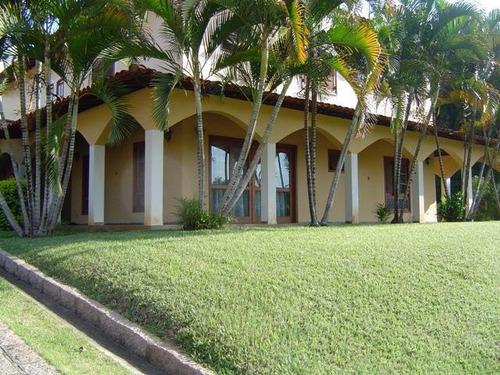 Casa Com 4 Dormitórios À Venda, 500 M² Por R$ 1.250.000,00 - Condomínio Chácaras Florida - Itu/sp - Ca0616