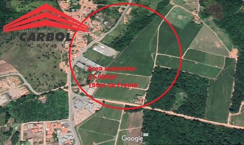 Área Industrial -  21.500m² - 150m De Frente - 81009c