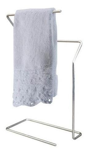 Imagem 1 de 3 de Porta Toalhas De Rosto Mãos Para Bancada Lavabo Banheiro Aço