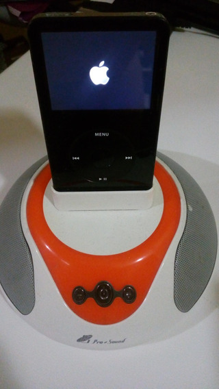 iPod Video 60 Gb + Cornetas Portatiles