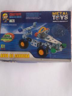 Juego De Construcción Metal Toys Auto De Carrera.