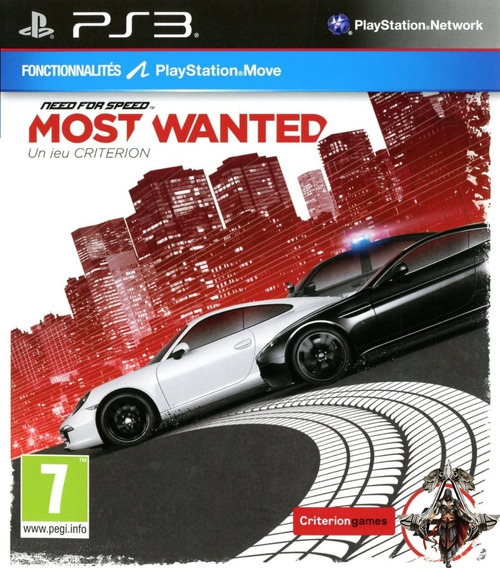 Need For Speed Most Wanted Ps3 - Midia Digital