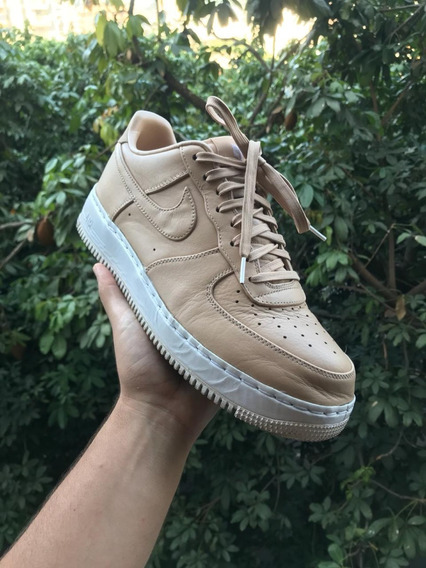 Tenis Nike Nikelab Air Force 1 Tan ( Bege ) 555106-200