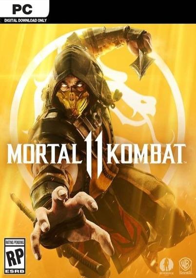 Mortal Kombat 11 Jogo Pc Midia Jogo Computador