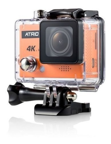 Câmera Atrio Fullsport 4k 16mp Wifi Case Prova D