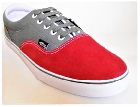 Tênis Freedom Fog Time Vermelho/grafite Skate Shoes