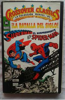 Superman Vs El Sorprendente Spiderman Revista Editorial Vid
