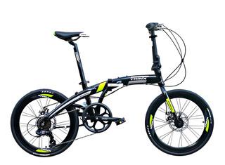 Bicicleta Plegable Rod 20 Trinx Dolphin 2.0 7v Disco