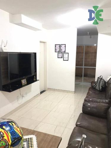 Sobrado Com 2 Dormitórios À Venda, 68 M² Por R$ 179.000,00 - Jardim Colônia - Jacareí/sp - So0155
