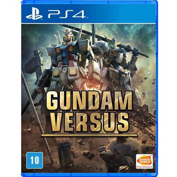 Gundam Versus Ps4 Mídia Física Lacrada