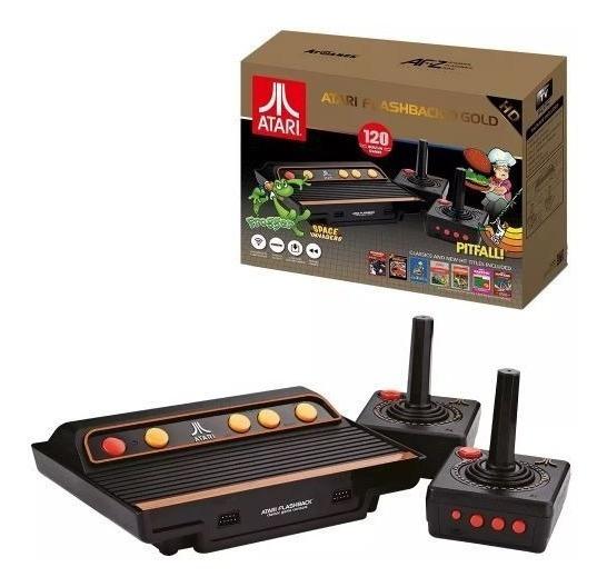 Atari Flashbac 9 Gold Hd Com 120 Jogos - Lançamento Tec Toy
