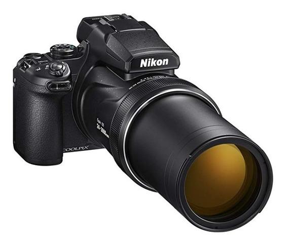 Nikon P900 - Zoom80x Wifi, Gps, 16mp + Bateria+bolsa+64gbsd