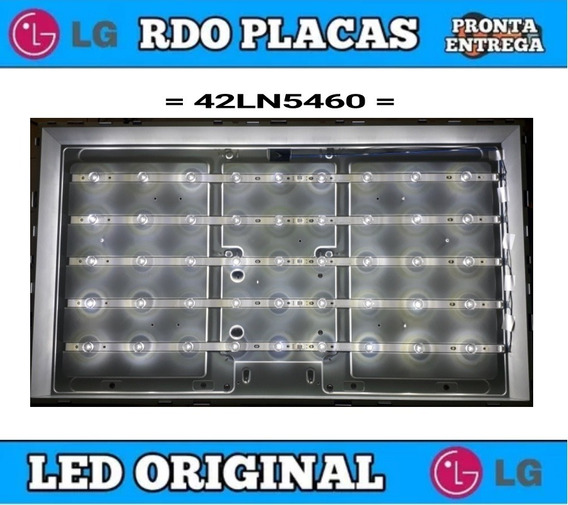 Kit Completo De Led Lg 42ln5460 - Original - Testadas