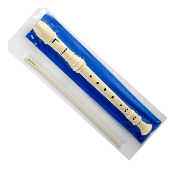 Flauta Custom Doce Soprano Em Dó Germânica - Similar Yamaha