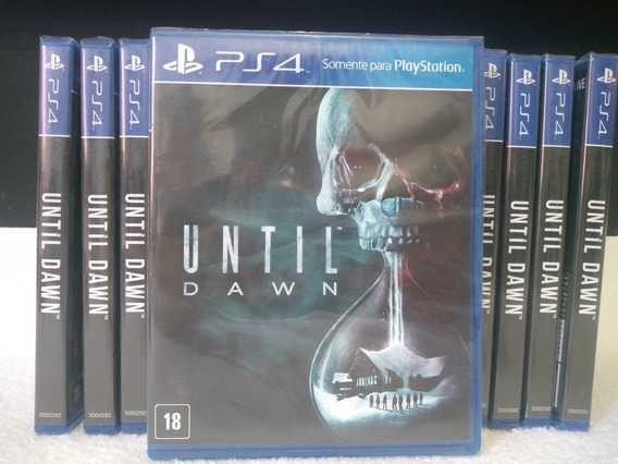 Until Dawn Ps4 Original - Lacrado - Português - Mídia Física