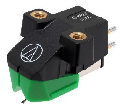 Cápsula Audio Technica At-vm95e Verde Elíptica Bonded