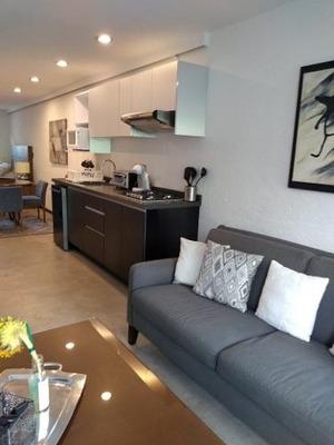 Apartamento Amueblado Nuevo En La Condesa