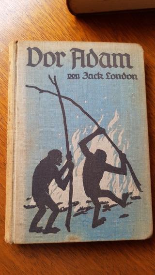 Livro Raro Antigo Em Alemão De 1915 De Jack London