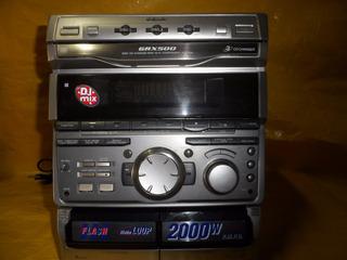 Mini Hi Fi System Sony Grx-500 -mineirinho- U.dono - Tudo Ok