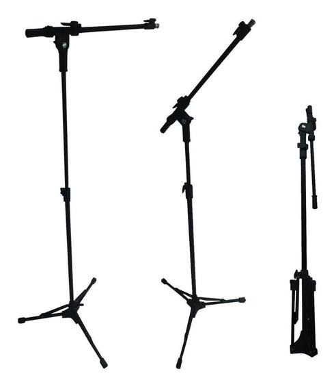 Pedestal Girafa Para Microfone Rmv Modelo Telescópioco Preto