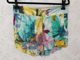 Shorts Floral Viscose - Morena Rosa Original