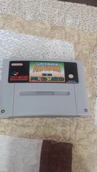 Fita De Super Nintendo Super Mario All Star