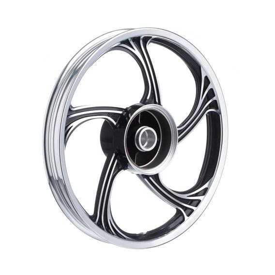 Roda Aluminio Traseira Temco Icarus Preto Cg 125 2009/